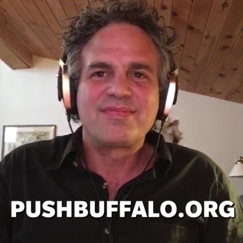 Ruffalo and PushBuffalo.org