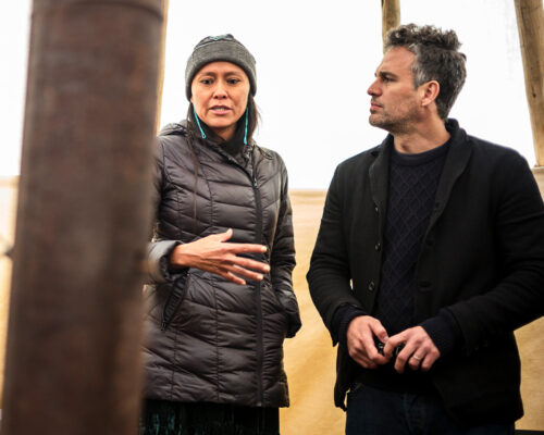 Standing Rock activist speaks with Mark Ruffalo