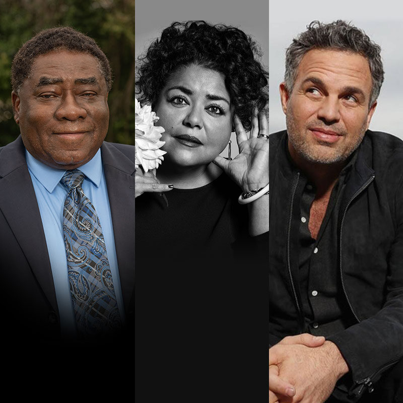 Climate Curious guests Mark Ruffalo, Elizabeth Yeampierre and Rev. Leo Woodberry