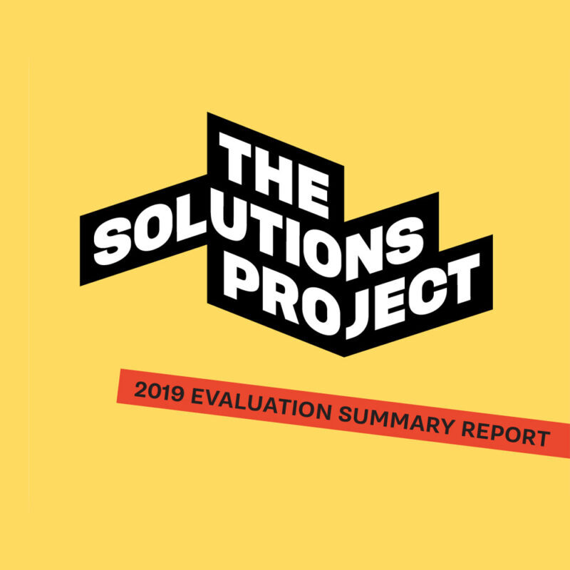 2019 Evaluation Summary Report Cover