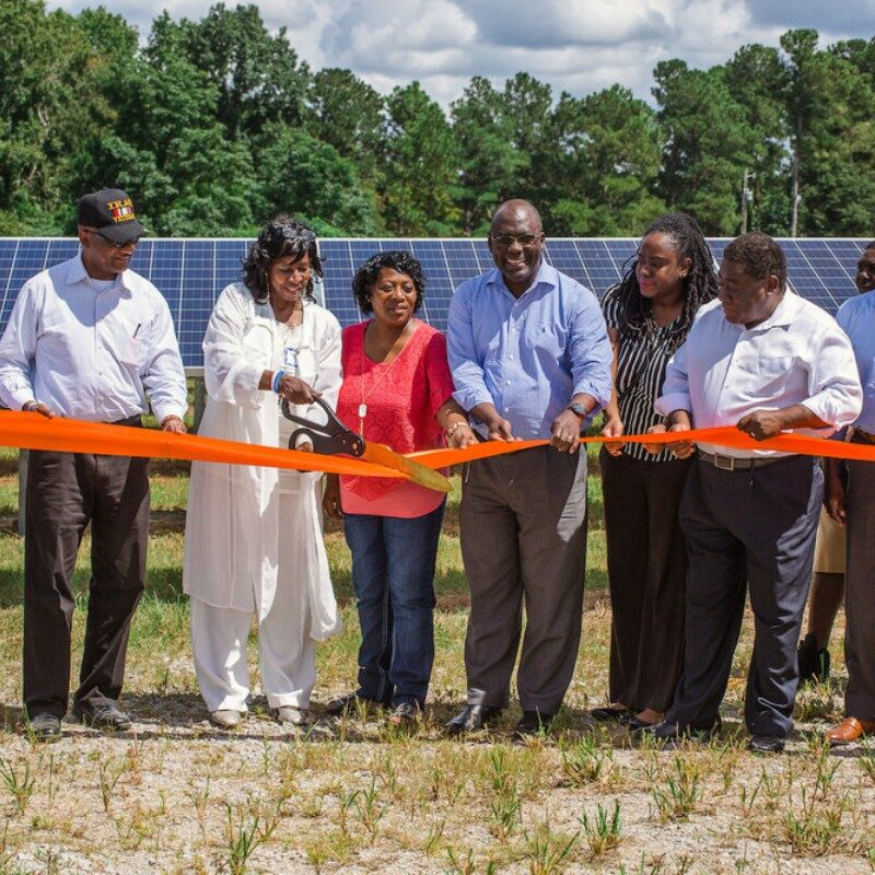 New Alpha Community Development Corporation at ribbon-cutting